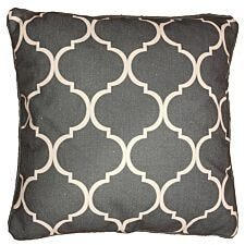 Greenhurst Harmony Square Scatter Cushion - Grey