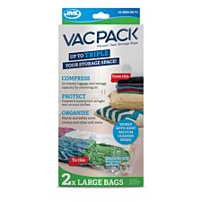 JML Vac Pack Replacement Large Bags - 2 Pack