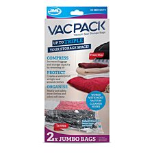 JML Vac Pack Replacement Jumbo Bags - 2 Pack