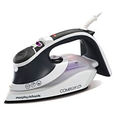 Morphy Richards 301022 Comfigrip Ceramic 2400W Steam Iron – Pink/Grey