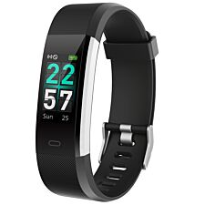 Aquarius Fitness tracker with Heart Rate/Colour Screen - Black