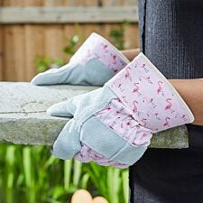 Briers Flamboya Flamingo Tuff Rigger Garden Gloves - Medium
