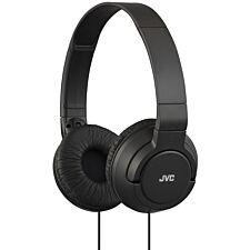 JVC HA-S180 Lightweight Powerful Bass Headphones - Black