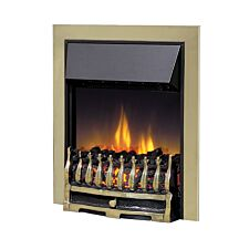 Dimplex Wynford OptiFlame Electric Fire Inset - Antique Brass