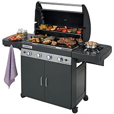 Campingaz 4 Series Classic Ls Plus Gas BBQ - Black
