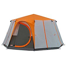 Coleman Cortes Octagon 8 Tent - Orange