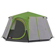 Coleman Cortes Octagon 8  Tent - Green