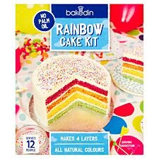 Bakedin Rainbow Cake Kit