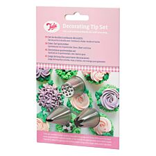 Tala 3 Nozzles with Icing bag for Grass, Leaves and Flowers