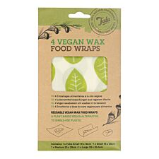 Tala Vegan Food Wax Wraps - Pack of 4
