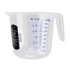 Chef Aid Plastic Measuring Jug - 1L