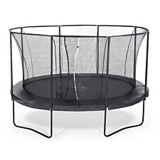 Plum The Oval 14ft x 10ft Springsafe Trampoline and Enclosure