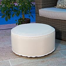 Charles Bentley Outdoor Inflatable Foot Stool - Beige