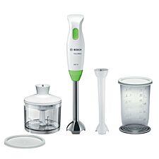 Bosch MSM2623GGB CleverMixx Dip & Dressing 600W Hand Blender - White & Green