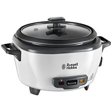 Russell Hobbs Medium Rice Cooker - Black & White