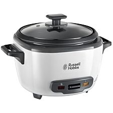 Russell Hobbs Large Rice Cooker - Black & White