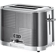 Russell Hobbs 25250 Geo Toaster – Steel Grey