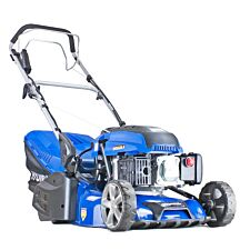 "Hyundai HYM430SPER Self Propelled 17"" 43cm 430mm 139cc Electric Start Petrol Roller Lawn Mower - Includes 500ml Engine Oil"