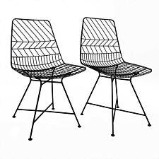 Charles Bentley Pair Of Metal Outdoor Chairs