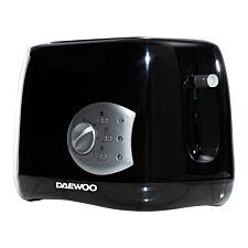 Daewoo SDA1710 Balmoral 2–Slice Plastic Toaster – Black