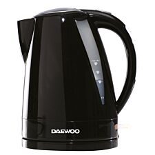 Daewoo SDA1750 Balmoral 1.6L 3KW Plastic Kettle – Black