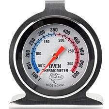 Chef Aid Oven Thermometer - Stainless Steel