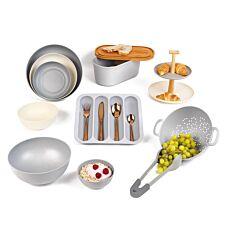 Salter 11 Piece Kitchen Set - Grey