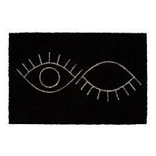 Premier Housewares Eye Print PVC Backed Coir Doormat