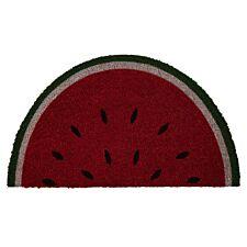 Premier Housewares Water Melon PVC Backed Coir Doormat