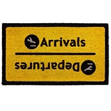 Premier Housewares Arrival Departure PVC Backed Coir Doormat