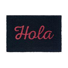 Premier Housewares Neon Hola PVC Backed Coir Doormat