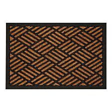 Premier Housewares Multi-Diamond Panama Doormat - Brown