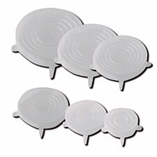Silcone Bowl Lids - Pack of 6
