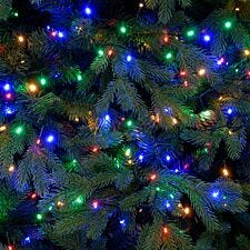 Festive Mains Operated Multicoloured Firefly Lights