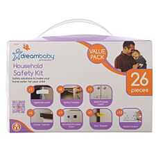 Dreambaby 26-Piece Household Safety Kit