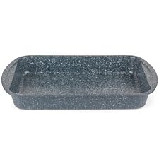 Russell Hobbs 38cm  Nightfall Stone Roasting Tray - Blue Marble