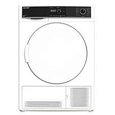 Sharp KD–HCB9GSW9–EN 9kg Condenser Dryer – White
