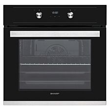Sharp KA-60D22BM1-EN 69L Fan-Assisted Oven with Air Curtain - White