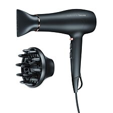 Beurer HC50 2200W Hair Dryer with Triple Ionic Function – Black
