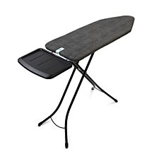 Brabantia B Ironing Board With Steam Holder 124x45cm - Denim Black