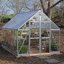 Palram Balance Greenhouse - Silver