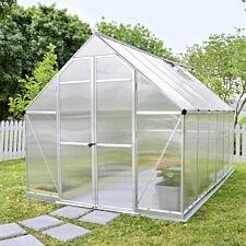 Palram Essence Greenhouse Silver - 8' x 12'