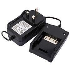 Draper 230V 1 Hour Charger for 18V 2Ah Li-Ion Battery Pack