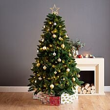 6ft Windsor PVC Christmas Tree