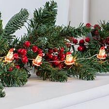 Robert Dyas Battery Operated 20 Santa LED Lights