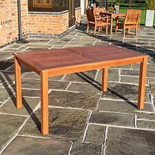 Rowlinson Willington Rectangular Table - 1.5 x 0.9 m