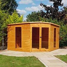Shire Barclay 10' x 10' Corner summerhouse