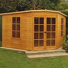 Shire Hampton 10' x 10 'Corner Summerhouse