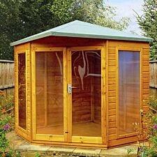 Shire Larkspur 8' x 8' Corner Summerhouse