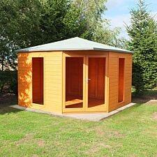 Shire Larkspur 10 ' x 10' Corner Summerhouse